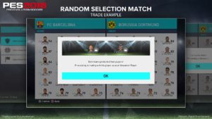 Что такое рандомный матч в игре PES 2018?