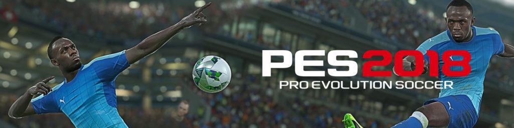 Усейн Болт эксклюзивный герой Pro Evolution Soccer 2018