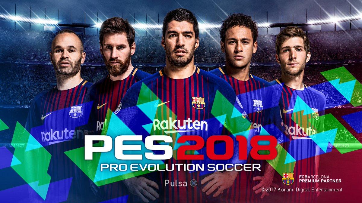 Обзор демоверсии игры PES 2018 на русском языке