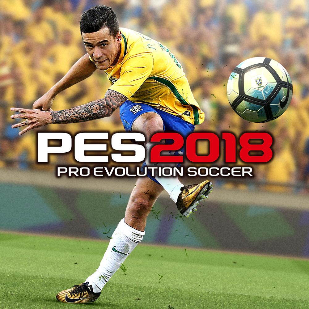 Филиппе Коутиньо на обложке игры PES 2018
