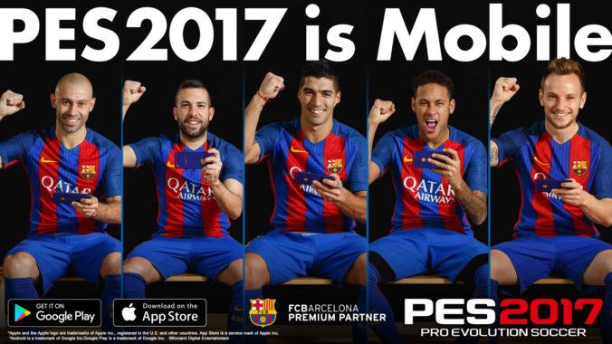 Мобильная версия PES получила большое обновление