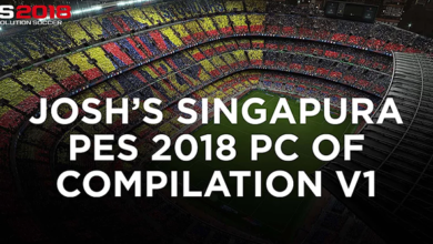 Патч PES 2018 Josh's Singapura PC Compilation V1
