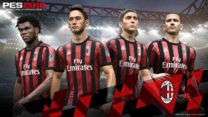 Милан стал официальным партнером игры Pro Evolution Soccer 2018