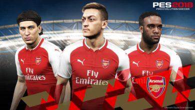Арсенал стал последним официальным партнером PES 2018