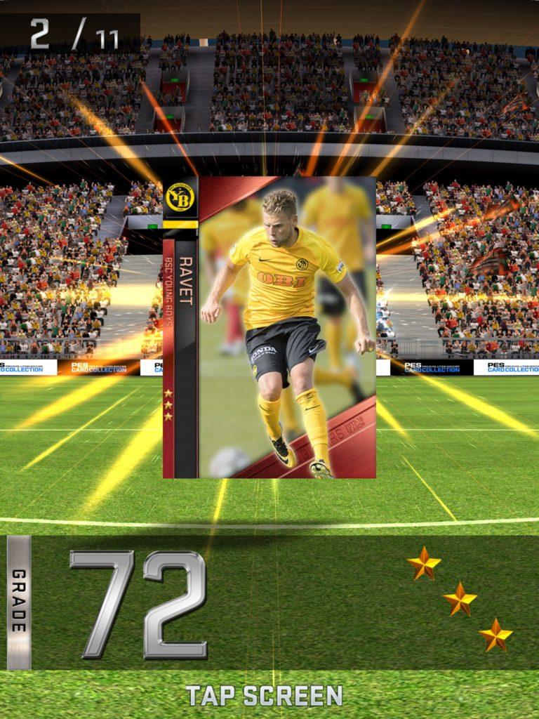 PES Card Collection - мобильная игра от Konami