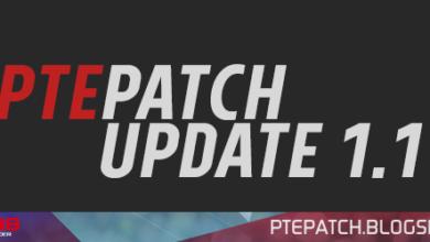 Обновление PTE патч 1.1 PES 2018