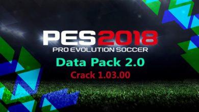 Crack официального патча 1.03.00 PES 2018
