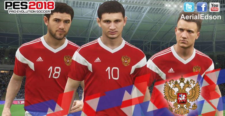 Домашняя форма сборной России на ЧМ 2018