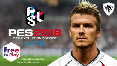 Доступна бесплатная версия Pro Evolution Soccer 2018 Lite