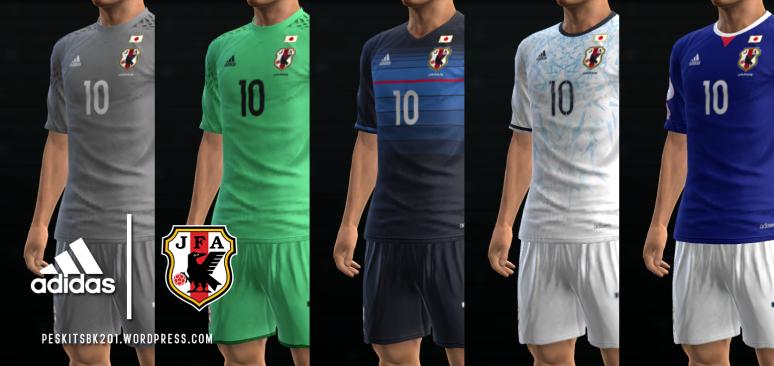 Футбольная форма сборной Японии на ЧМ 2018