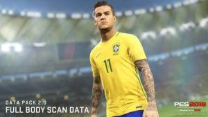 Второе большое обновление для Pro Evolution Soccer 2018