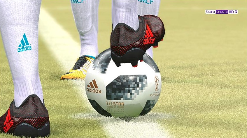 Мяч Telstar 18 в Pro Evolution Soccer 6