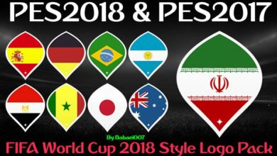 WC 2018 Logo Style Pack