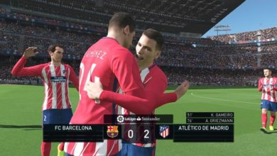 ТВ Попапс La Liga Santander Scoreboard
