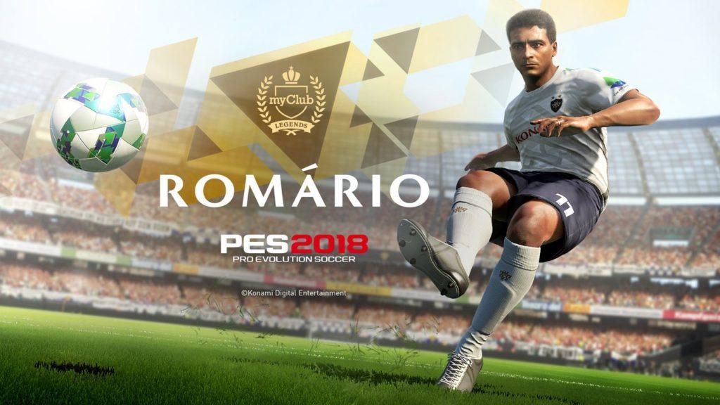 Ромарио в PES 2018