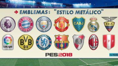 Уникальные эмблемы - логотипы для PES 2018