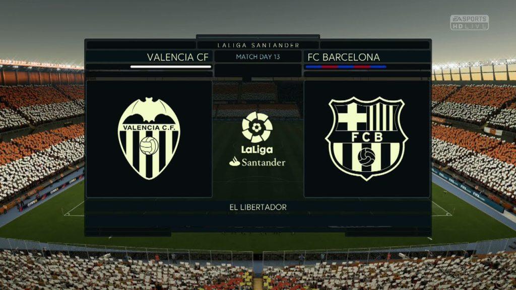 ТВ Попапс ЛА Лиги в FIFA 18