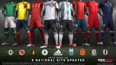 Скачать DLC 3.00 для Pro Evolution Soccer 2018