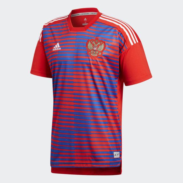 Prematch kits для сборной России на ЧМ 2018