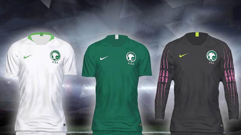 Форма сборной Саудовская Аравия на ЧМ для PES 2018