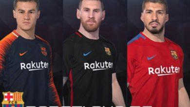 Фэнтази форма для Барселоны сезон 2018
