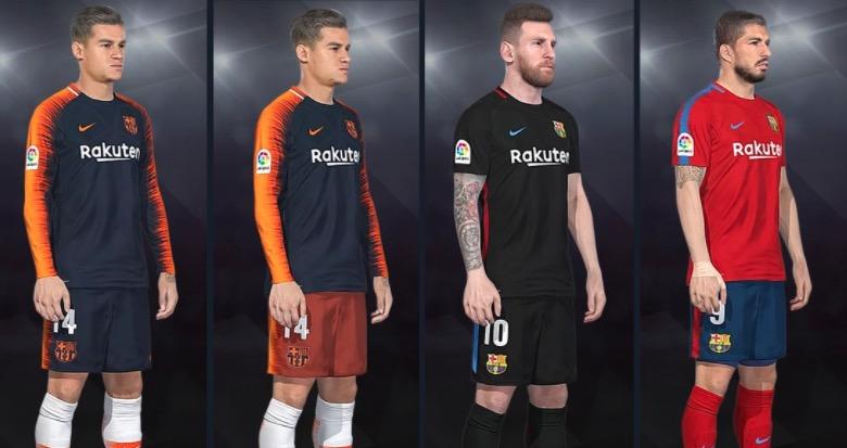 Фэнтази форма для ФК Барселона 2018