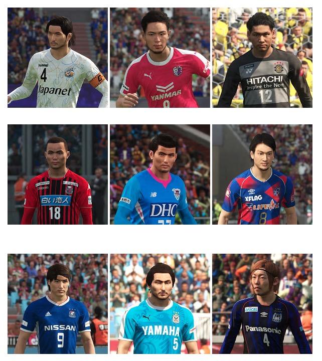 Полноценная J.League для PES 2018