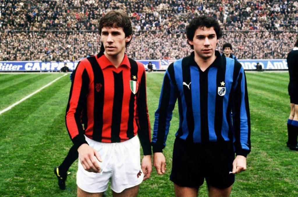 Футбольная форма Милана 80-х для PES 2018