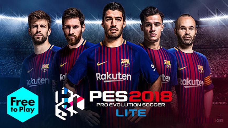 Lite Patch 2018 - бесплатная версия серии PES