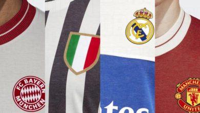 Ретро форма для топ клубов Европы