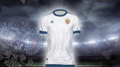 Выездная форма сборной России на WC 2018