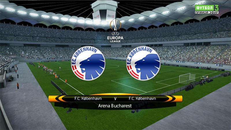 ТВ Попапс Лиги Европы для PES 2013