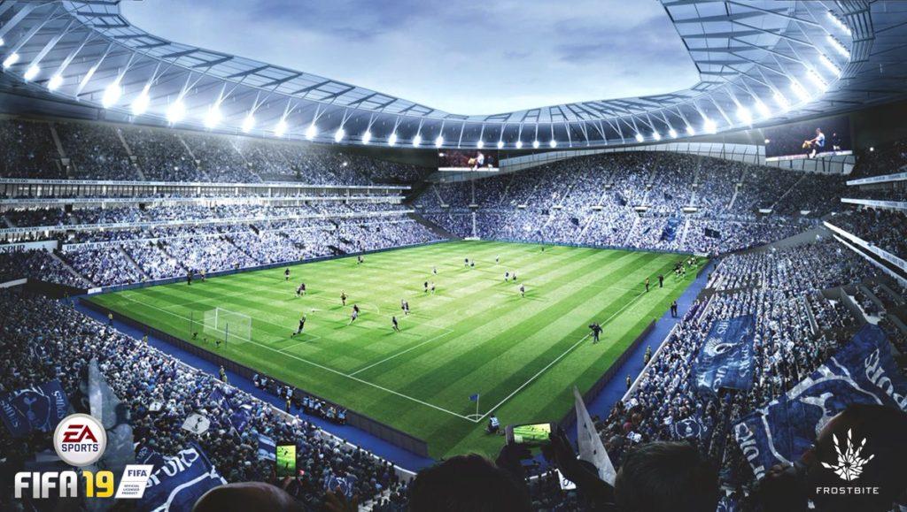 Стадион Spurs New Stadium в FIFA 19