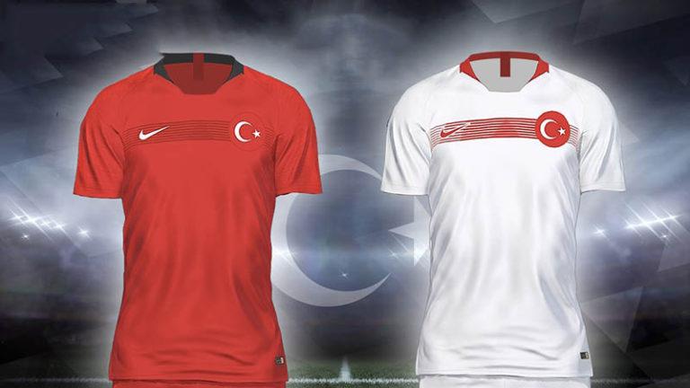 Форма сборной Турции на 2018 год