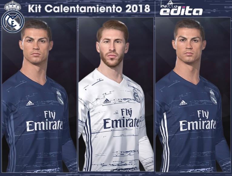 Футбольная форма Реал Мадрид 2018