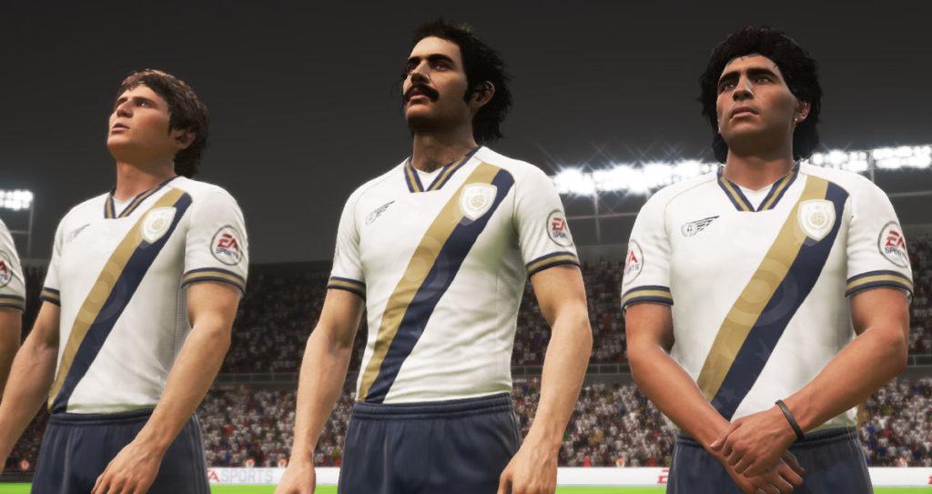Сборная мира в FIFA 18