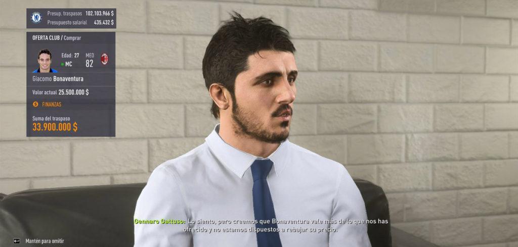 Дженнаро Гаттузо в игре FIFA 1