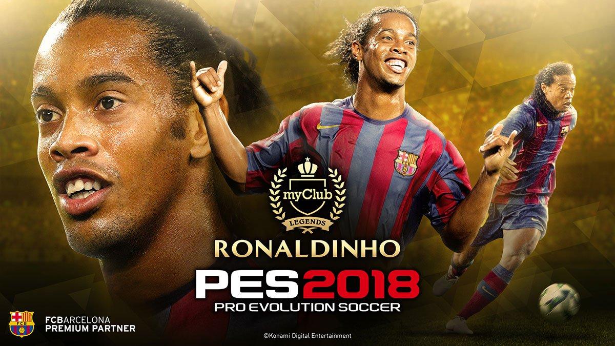 DLC 4.00 для PES 2018 выходит 26 апреля