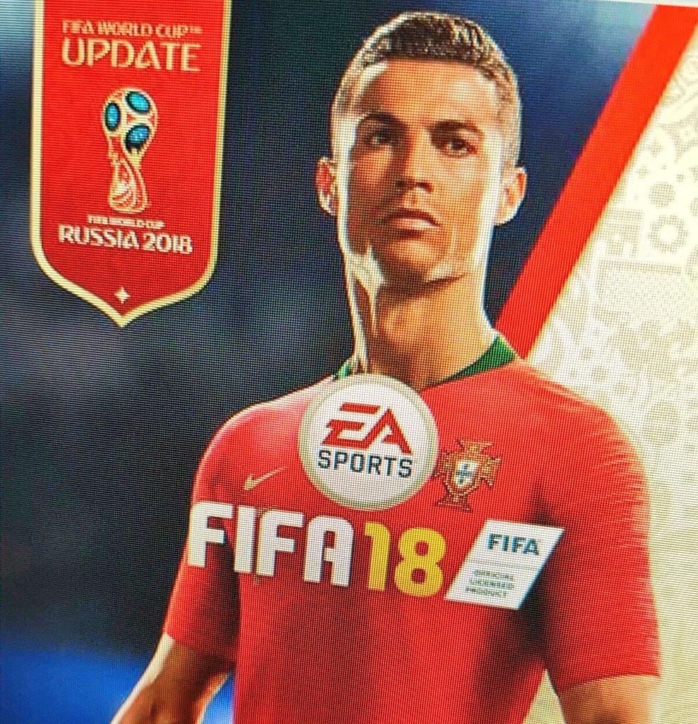 Появился постер FIFA World Cup 2018 для FIFA 18