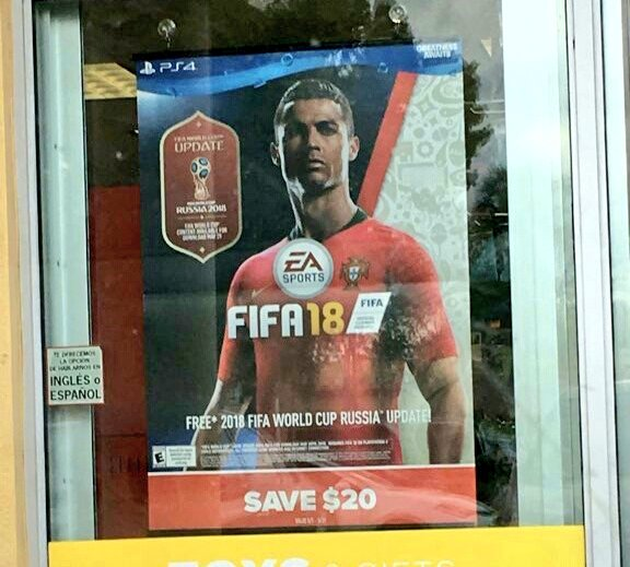 Постер FIFA World Cup для FIFA 18