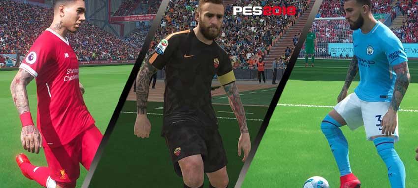 Татуировки для Pro Evolution Soccer 2018