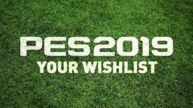 Pro Evolution Soccer 2019 - список пожеланий