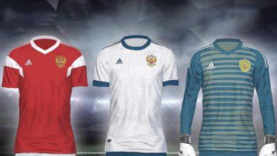 Форма сборной России на ЧМ 2018