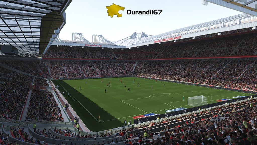 Стадион Old Trafford для PES 2018