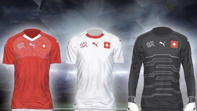 Форма сборной Швейцарии на ЧМ 2018