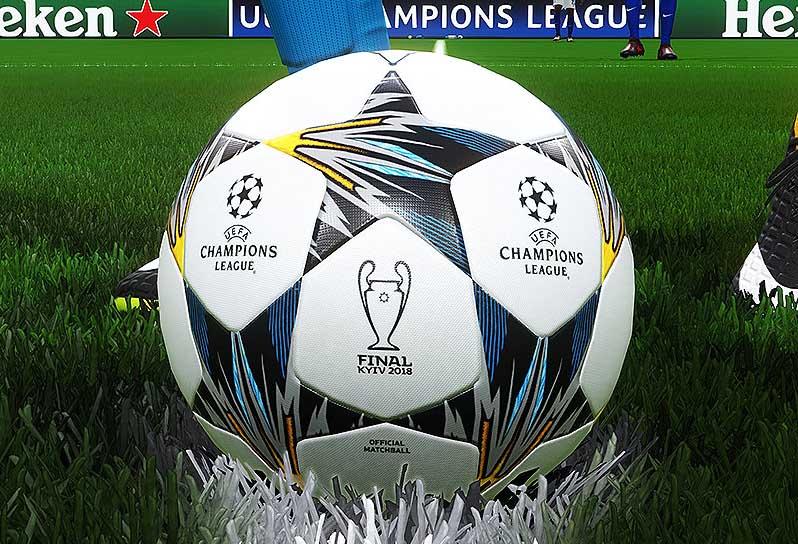 Официальный мяч финала Лиги чемпионов 2017-18