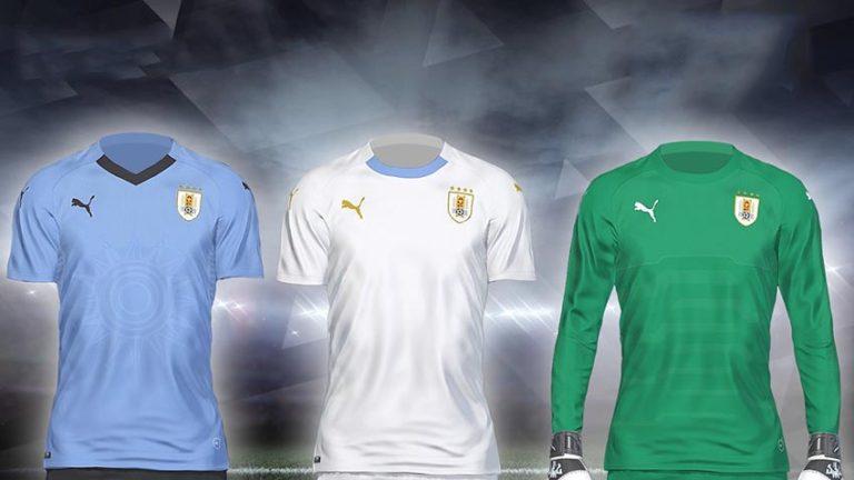 Форма сборной Уругвая на ЧМ 2018