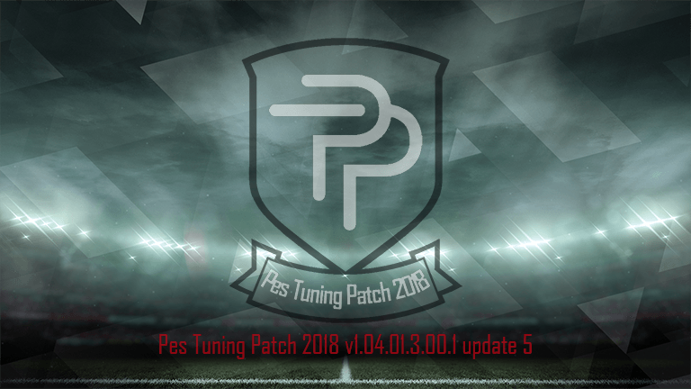 PES Tuning Patch 2018 v1.04.01.3.00.1