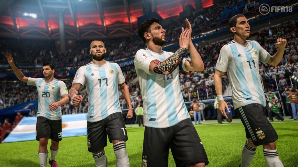 Сборная Аргентины в WC 2018