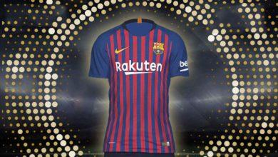 Домашняя форма ФК Барселона сезон 2018-19